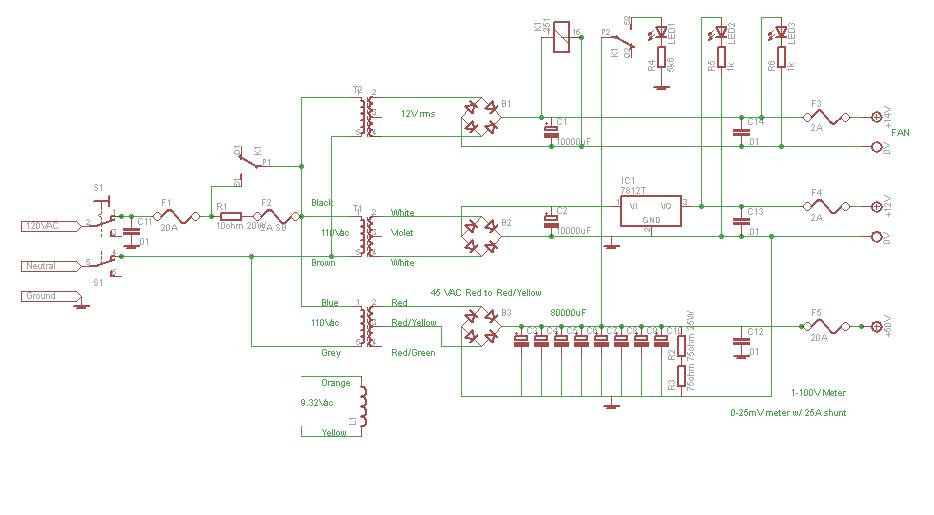 2010-December-28 - EB104 600W Amp Progress